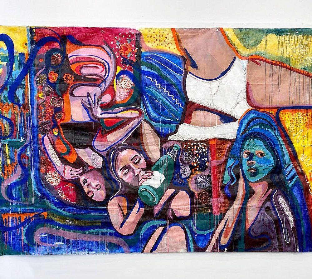 Good Till The Last Drop - Mixedmedia painting by Amelia Brook